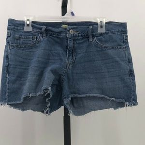 Old Navy womens cutoff jean shorts sz 10